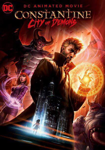 Constantine City of Demons The Movie 2018 English BluRay 720p 700MB