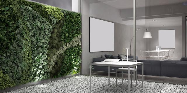 Plantenbakken in zink urban tweedehands voor tegen muur op poten met klimrek voor op terras hangend