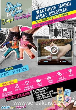 Kontes Video Finger Freestyle Berhadiah Sony Xperia Z1