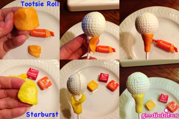 How To Make Golf Ball Cake Pops With Mold