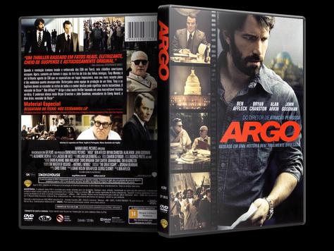 Capa DVD Argo