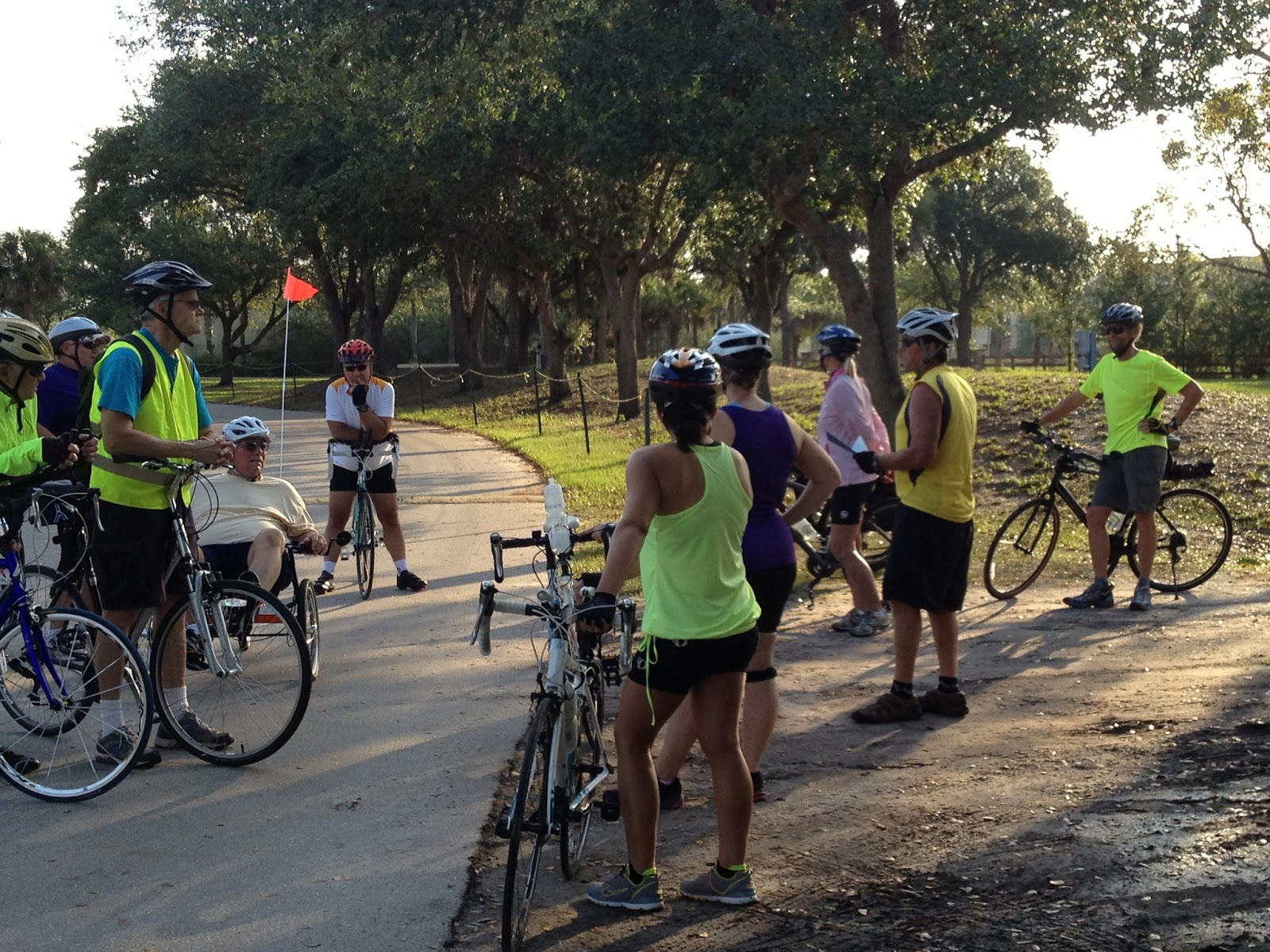 Bikewalklee Blog Second Tour De Parks And Bike Audit For