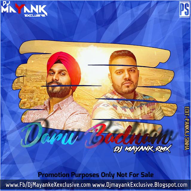 Daru Badnam Dj Remix Sapna: Daru Badnam Remix Dj Mayank Exclusive