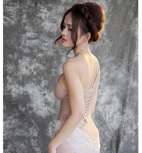 Ngoài Ngân 98, BTV thời sự gợi cảm nhất đài An Ninh TV đạt vòng eo 54