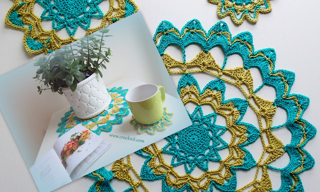 crochet patterns, mandalas, doily, coasters, how to crochet,