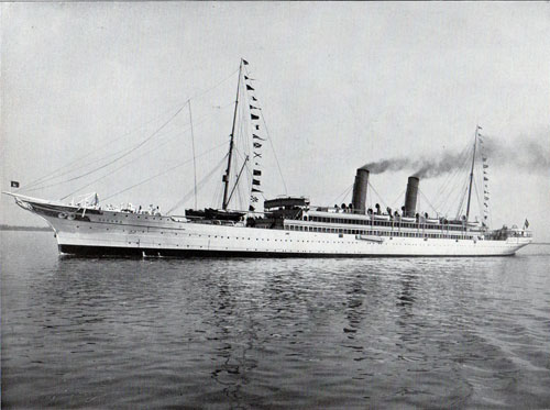 ss Oceana 1905 Hapag Cruise vessel