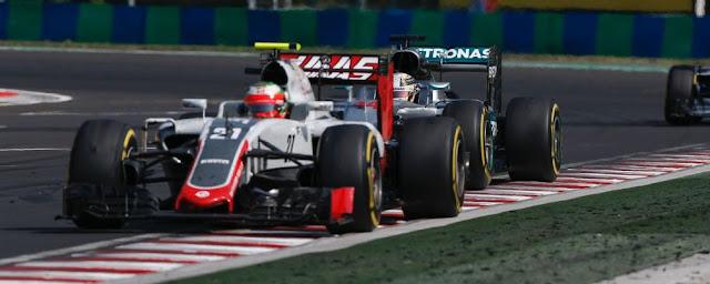 Esteban Gutierrez f1 satuempat