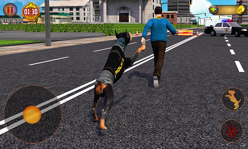 Police Dog Simulator 3D MOD APK