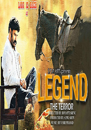 Legend The Terror 2016 HDRip 720p Hindi Dubbed x264 Watch Online Full Movie Download bolly4u