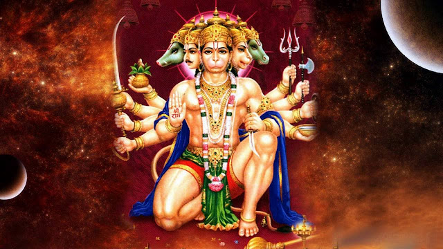 Panchmukhi Hanuman Story in Hindi