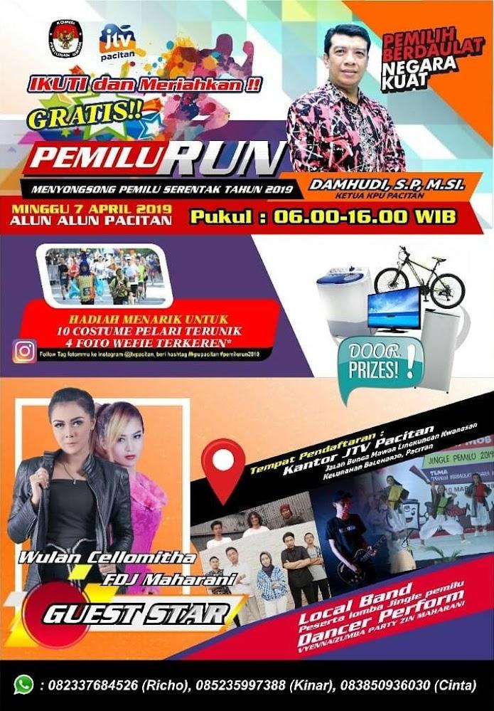 Pemilu Run - Pacitan • 2019
