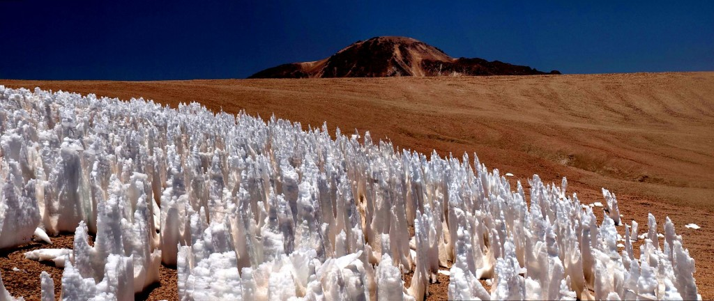 The Mysterious Penitentes Transform The Desert Into An