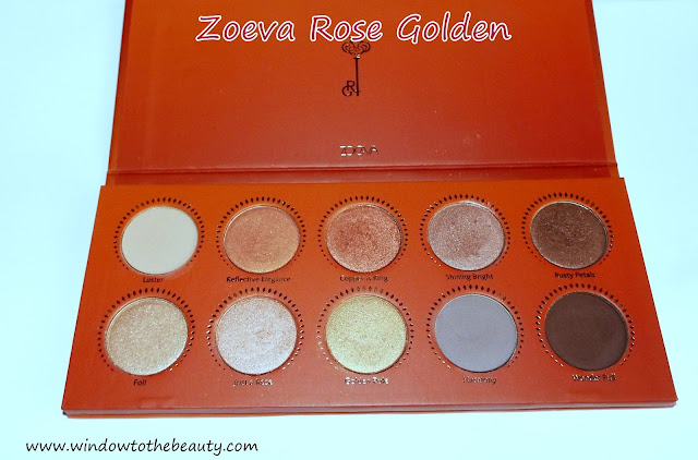 Zoeva Rose Golden Palette Review & Swatches