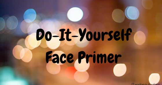 Do it yourself primer center bmiss beauty glam bcenter solutioingenieria Image collections