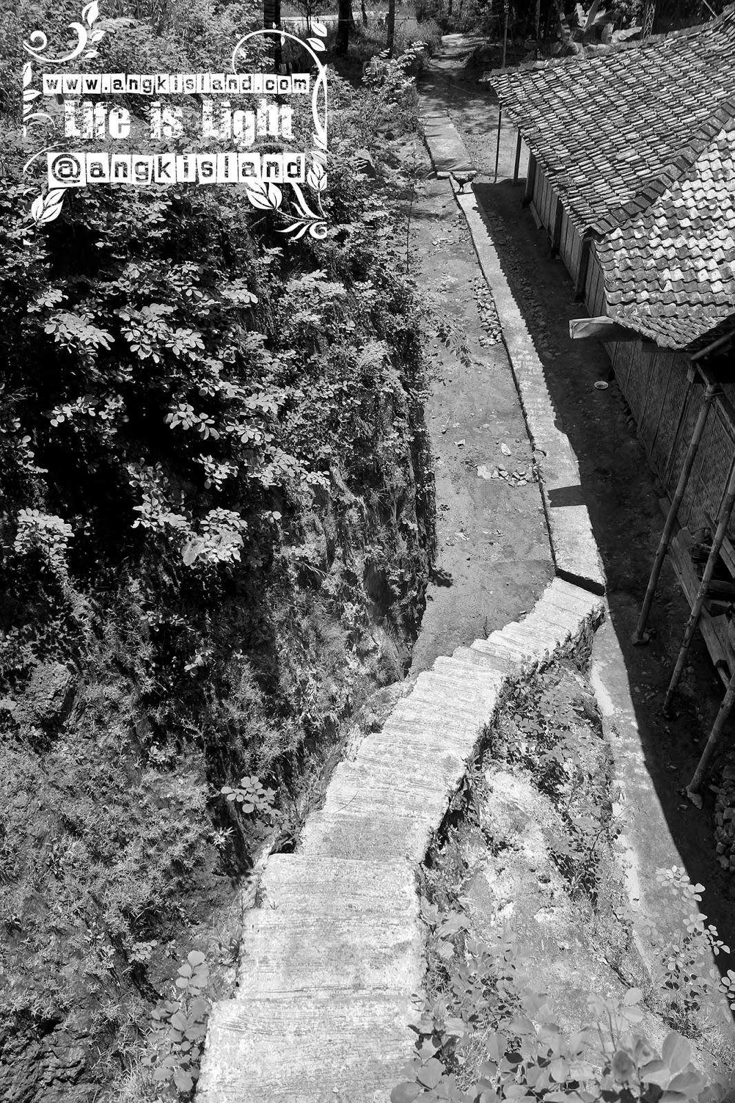 tangga turun gunung ijo