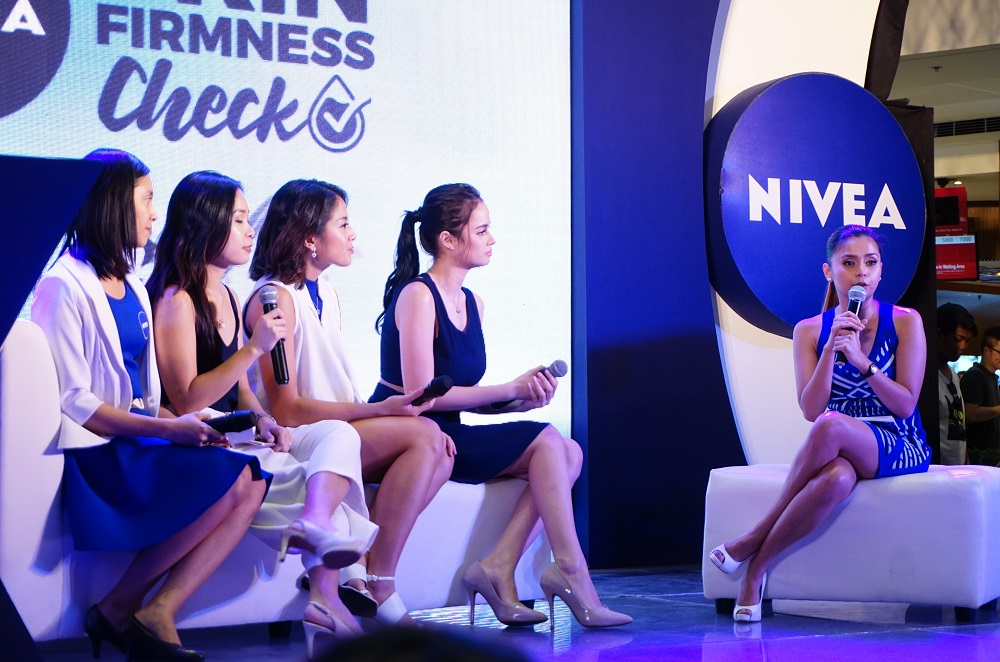 The NIVEA Skin Firmness Check at Mega Fashion Hall