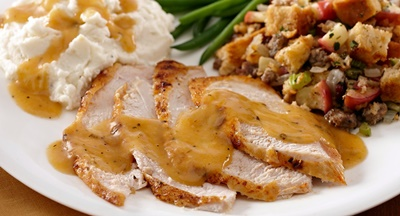 Smoked Paprika Roasted Turkey With Gravy