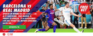 circus promocion super copa españa Barcelona vs Real Madrid 13 agosto