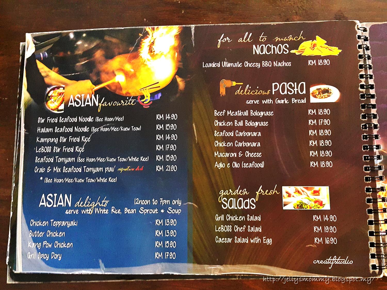 A little bit of Everything: LeBoss Cafe Restaurant (Sungai Petani ...