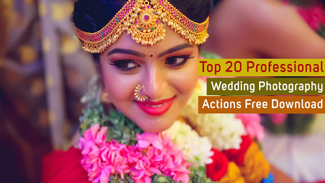 Top 20 Professional Wedding Photography Actions Free Download