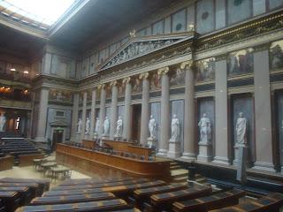 Austrian Parliament vienna inside