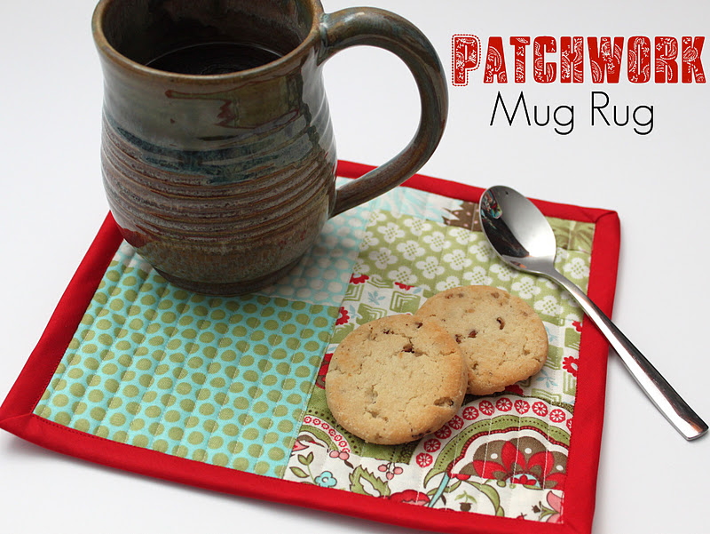 Patchwork Mug Rug Tutorial Smashed Peas Carrots