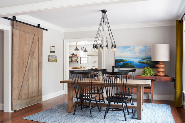 Modern Farmhouse via Rue Daily | Savor Home