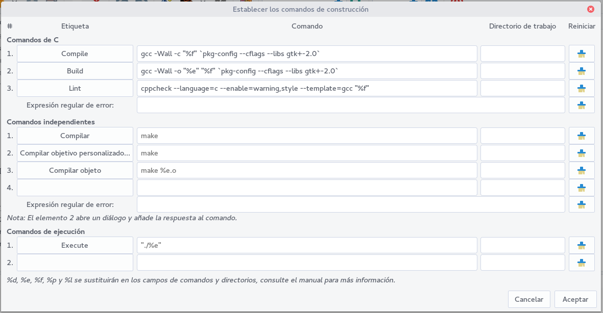 Compilando Archivos De Gtk Vala Y C Desde Geany Linuxitos