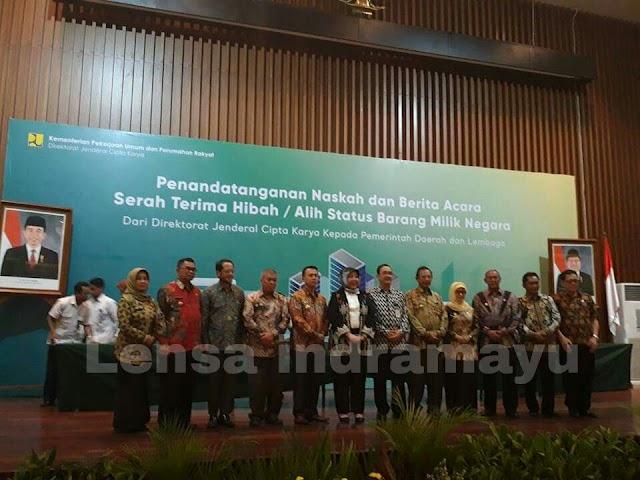 Pemkab Indramayu terima hibah 15 miliar dari Kementrian PUPR
