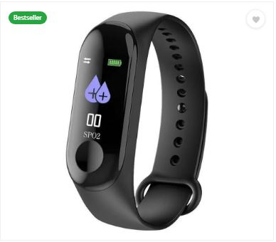 [Big Deal] Fitness M3 Fitness Band In Just Rs.317 (MRP-Rs.2975)