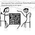 Na WF-ie gramy w... szachy - rysunek satyryczny