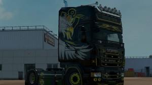 Scania RJL Metal King Skin