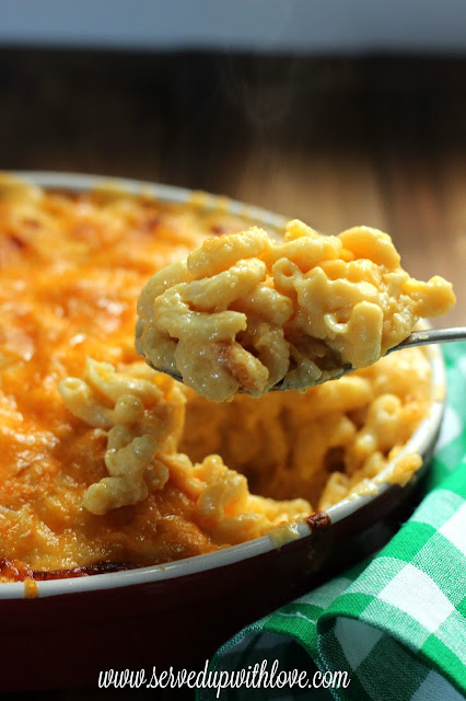 Melissa's Macaroni and Cheese recipe from Served Up With Love