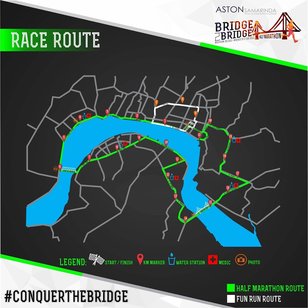 Rute Samarinda Bridge 2 Bridge • 2017