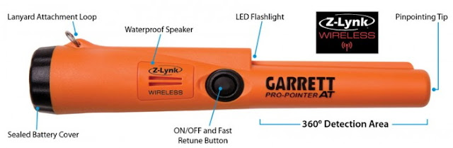 Garrett Pro-Pointer AT Pinpointer with Z-Lynk