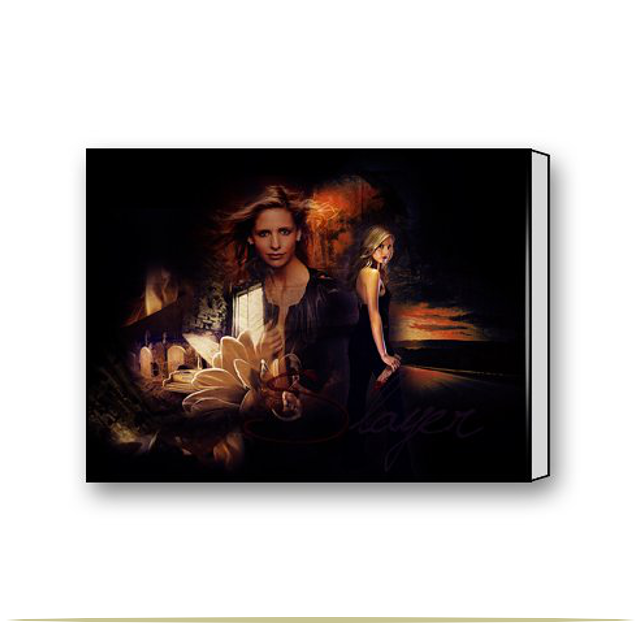 Buffy the Vampire Slayer Canvas Print  |  9 Cool Things