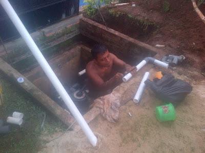 instalasi pipa kolam renang