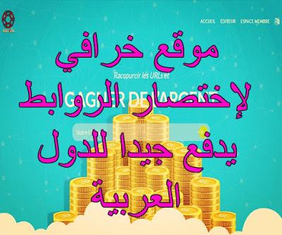 اختصار الروابط يدعم الربح من الدول العربية