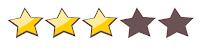 Resultado de imagen de valoracion 3  estrellas