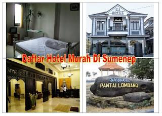 Daftar Hotel Murah di Sumenep Madura