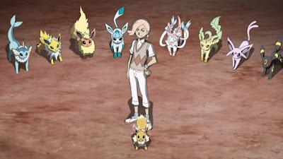 Pokemon Sol y Luna Capitulo 65 Temporada 20 Ilima y Eevee ilihacen su entrada