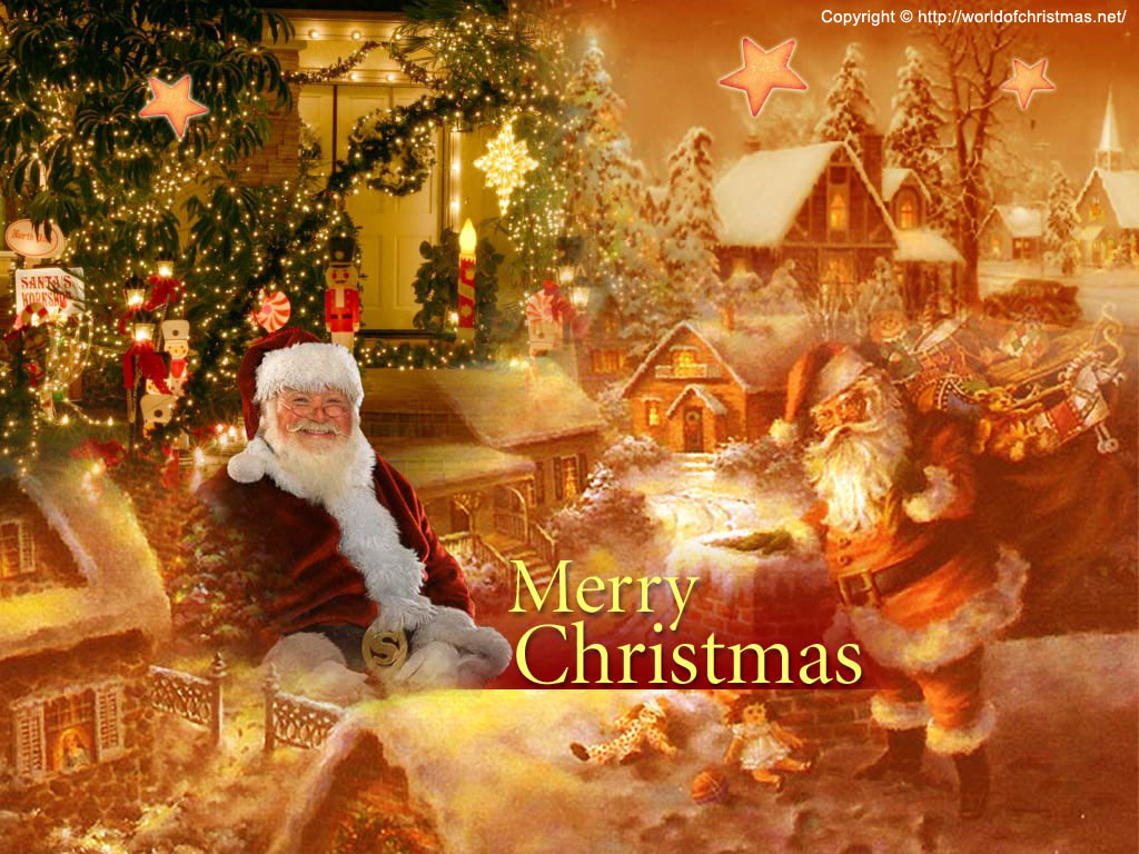 9 Best Christmas Live Wallpapers And Screensavers For Pc: Chirstmas: Santa Wallpapers