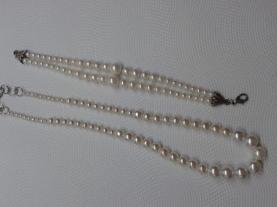 perełki naszyjnik i bransoletka