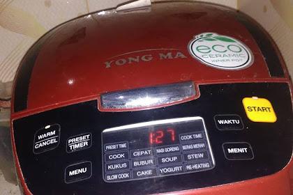 Review Magic Com Yong Ma Digital 2 Liter