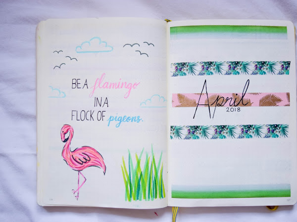 Bullet Journal | April Set Up