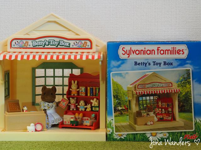 Sylvanian Families Betty's Toy Box