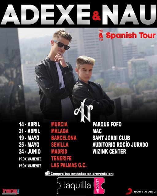 Concierto de Adexe & Nau en Málaga
