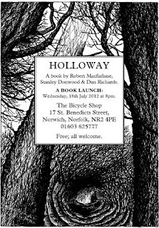 Holoway by Stanley Donwood - Norwich launch