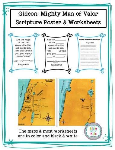 Bible Fun For Kids: Gideon Guided Bible Reading
