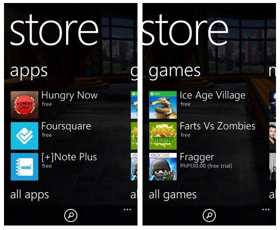 Windows Phone Store Deutsch